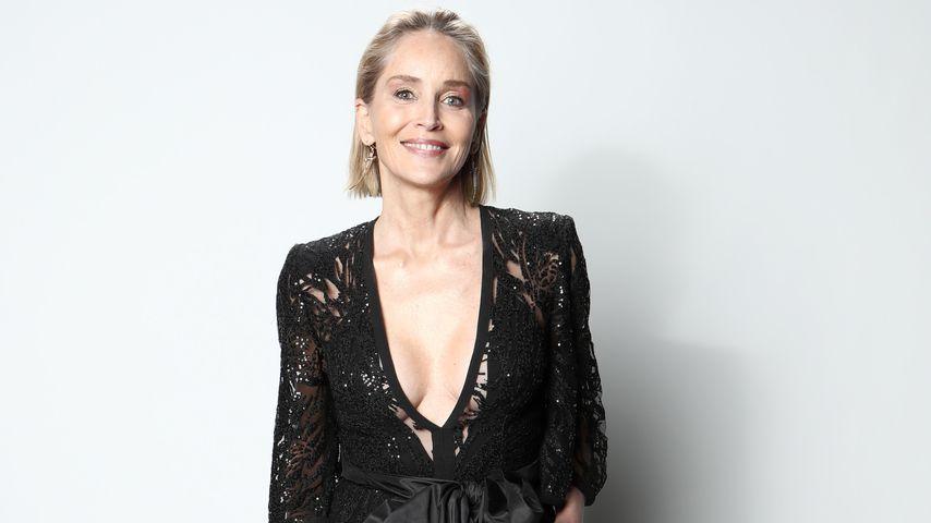 Schock! Chirurg vergrößerte ungefragt Sharon Stones Brüste   Promiflash.de