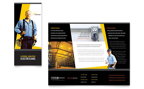 Construction Marketing Brochures Flyers Postcards