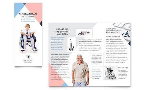 Medical & Health Care Marketing Brochures Flyers