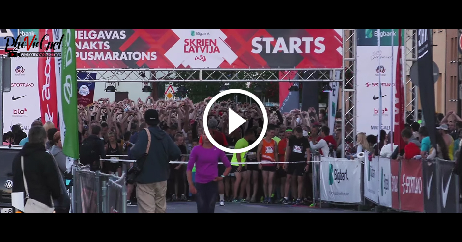 JELGAVAS NAKTS PUSMARATONS 2017 (STARTS)
