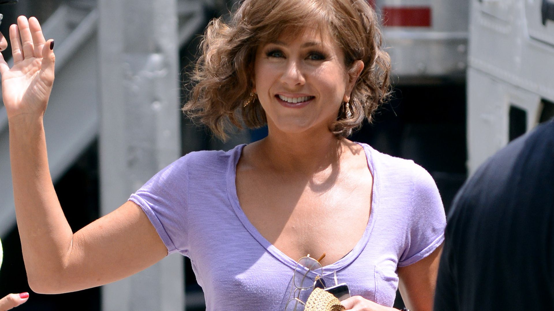 BH Vergessen Nippel Alarm Bei Jennifer Aniston