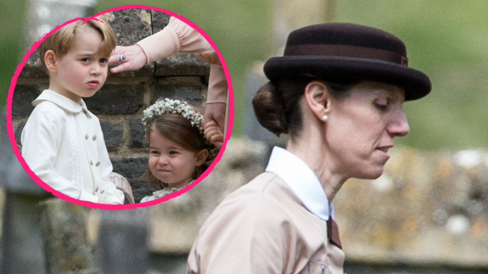 Pippas Hochzeit Oh wie sieht denn Prinz Georges Nanny
