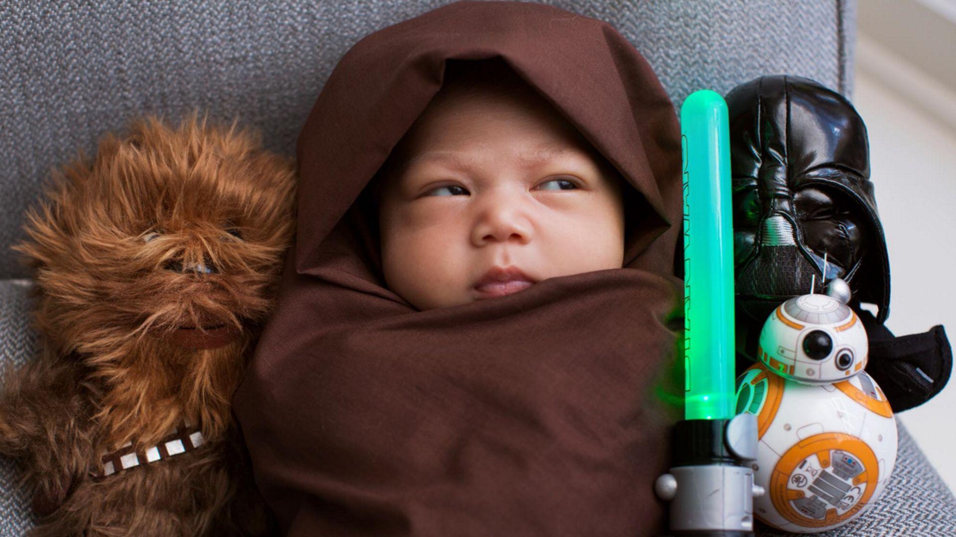 Mini Jedi Mark Zuckerbergs Baby Ist Im Star Wars Fieber