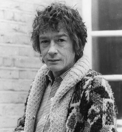 an older john hurt, chaneling some degree of bob dylan