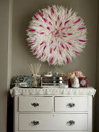 Pink white JuJu hat