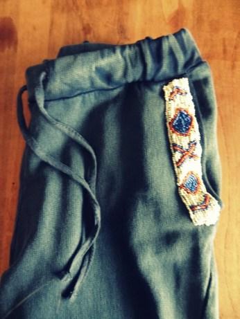 Aztec trousers Zara