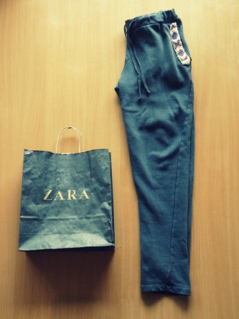 New in: Zara trousers
