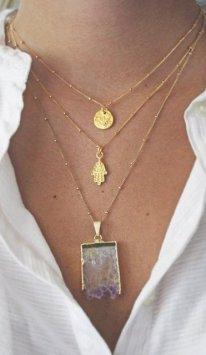 Wishlist gold necklaces