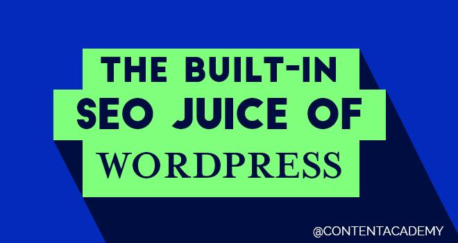 The SEO Juice of WordPress