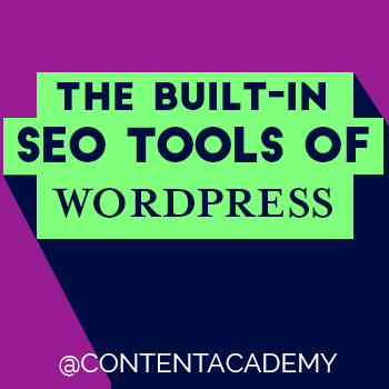 The Built-In SEO Tools of WordPress