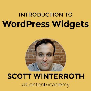 A thing or two about WordPress Widgets