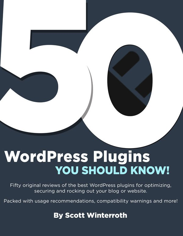 50 WordPress Plugins You Should Know eBook Cover