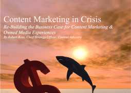 Content Marketing In Crisis