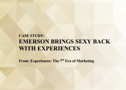 Emerson Brings Sexy Back