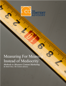 Measuring for Meaning