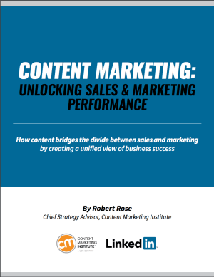 Content Marketing Sales And Marketing Alignment
