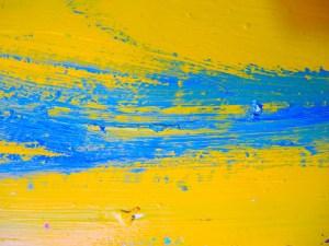 Paint Your Own Blue Stripe