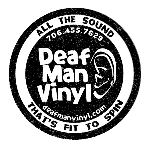 deaf man vinyl logo