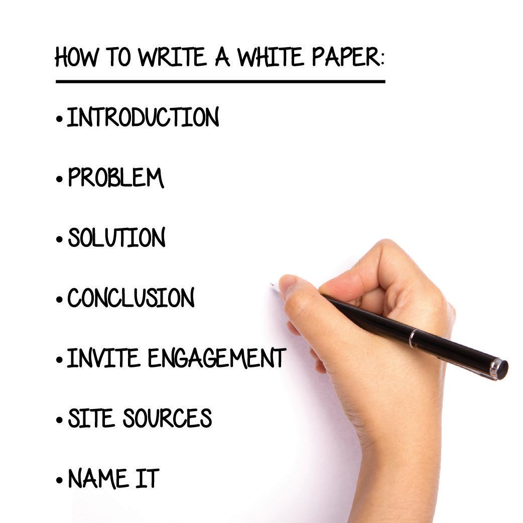 Do's And Don'ts For Excellent White Paper Writing