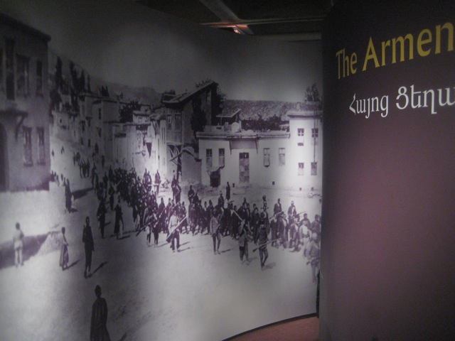Armenian Library and Museum of America an exhibit about the tragedy of the Armenian Genocide