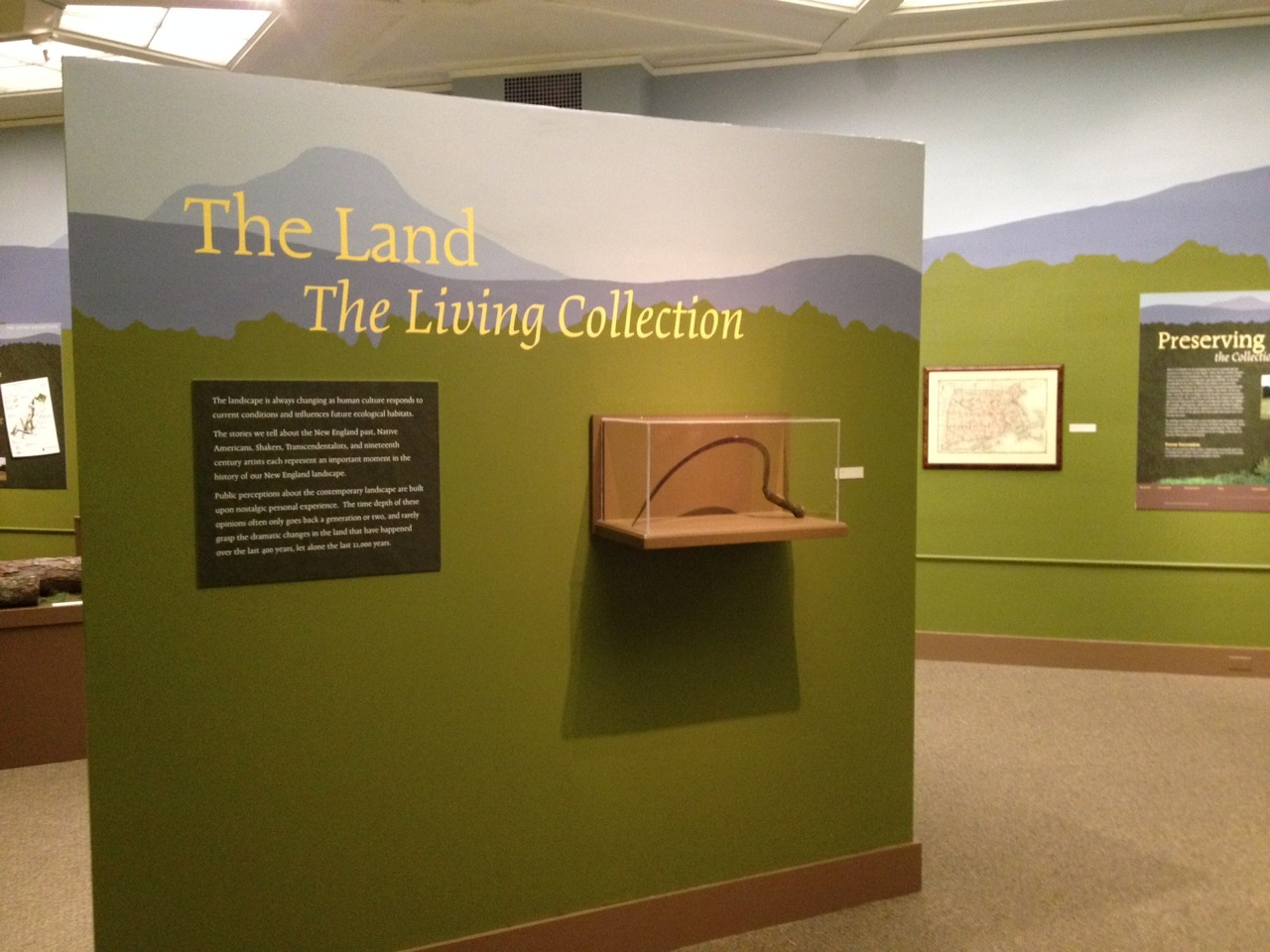 Fruitlands Museum of all the collections at the Fruitlands Museum, their land is the largest interpreting asset as their living collection