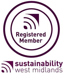 Registered member of Sustainability West Midlands UK