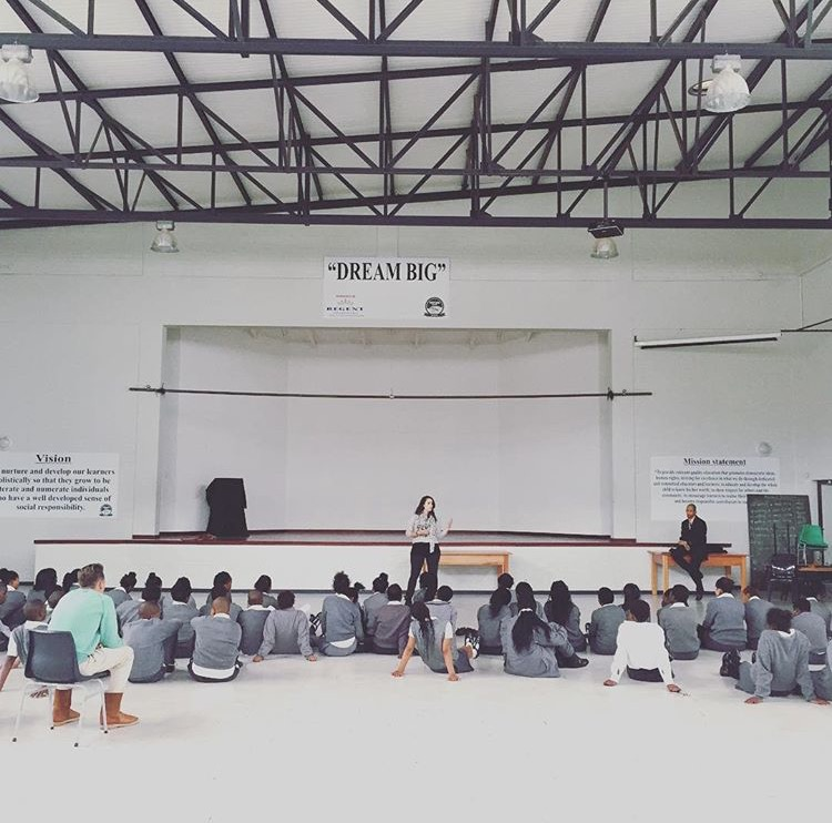 Contented Gypsy | Chelsey Sharing Her Testimony With Westlake Kids