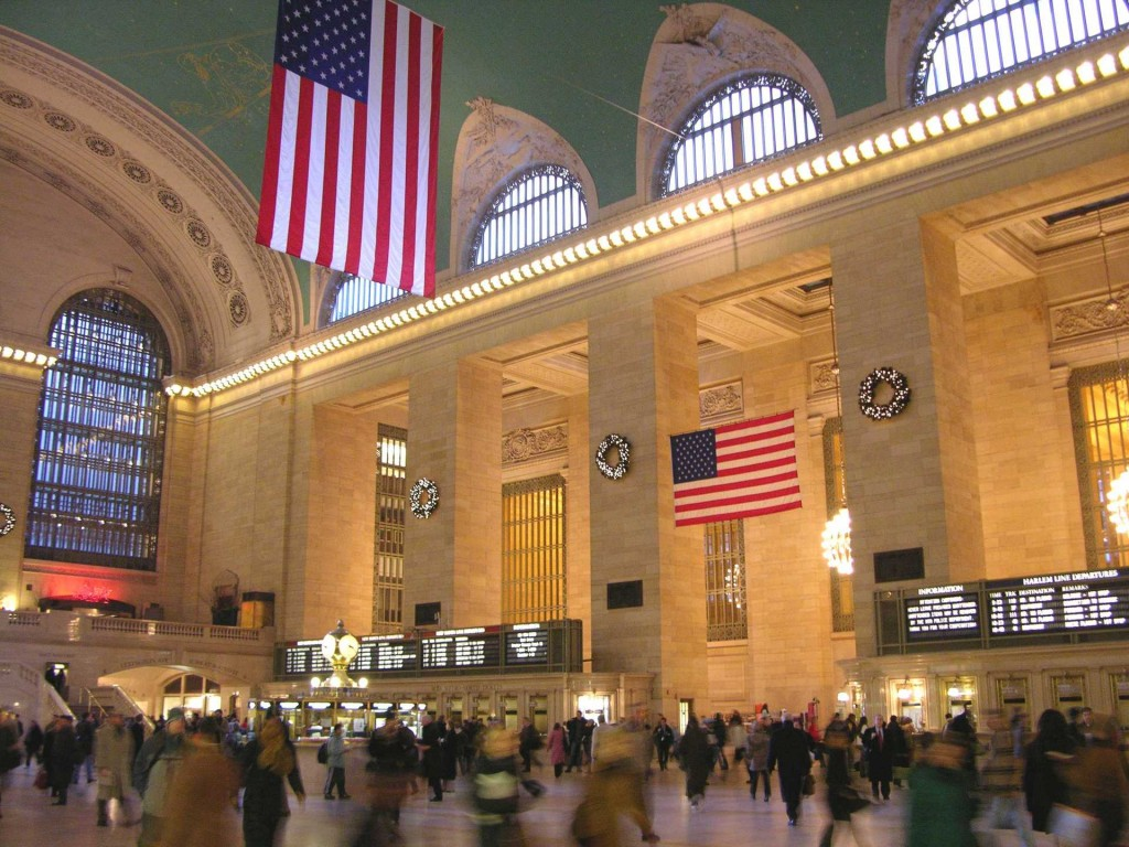 Contented Gypsy   Grand Central Station Christmas