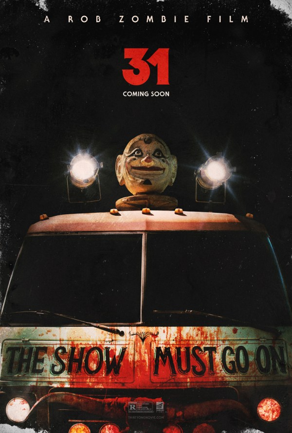 Rob Zombie new movie 31 release date posters CFY
