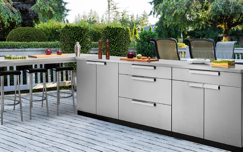outdoor kitchens pictures decorative tiles for kitchen backsplash ideas your home the depot modern