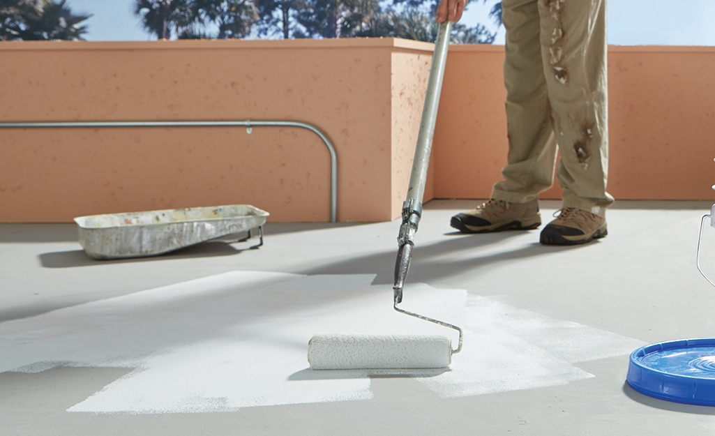Best Outdoor Paint For Concrete And Patios The Home Depot | Painting Exterior Concrete Steps | Wood | Cement | Behr | Curb Appeal | Coating