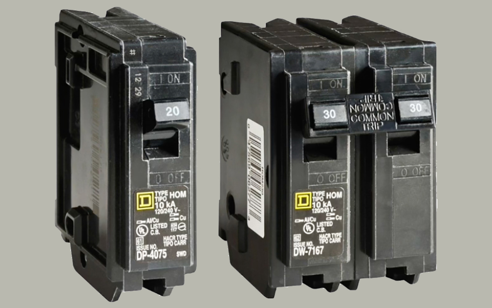 Wiring Circuit Breakers In Series