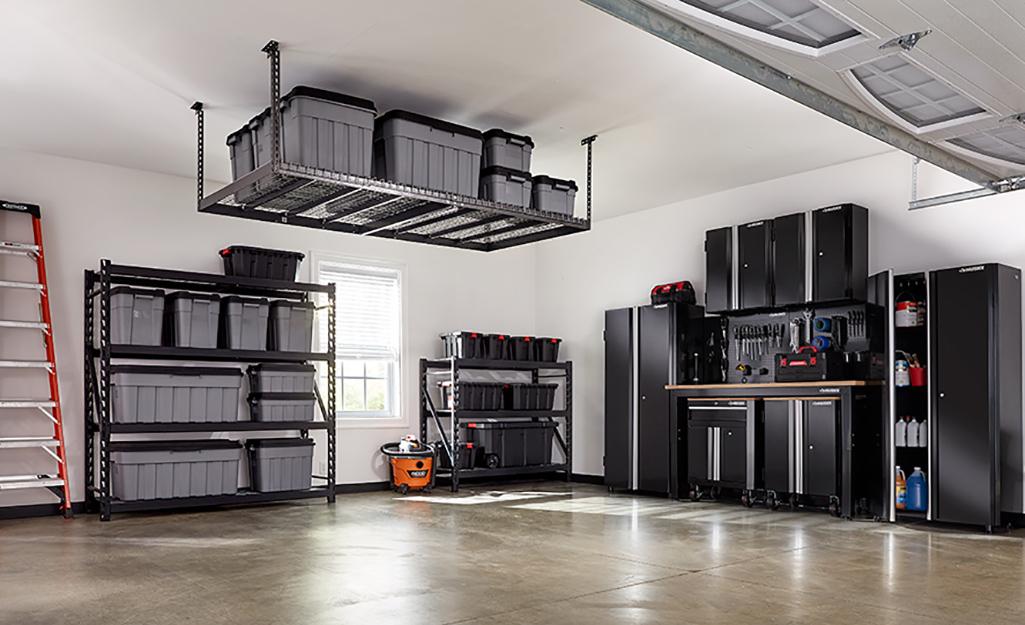 Creative Garage Storage Ideas The Home Depot
