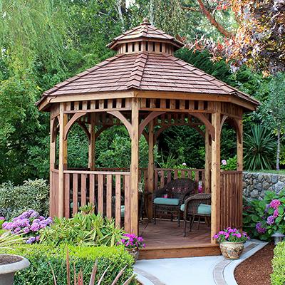 patio gazebos shade structures