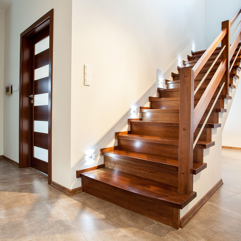 How To Build Stairs The Home Depot | Wood Floors And Stairs | Beautiful | Wood Plank | Oak | House | Wood Flooring