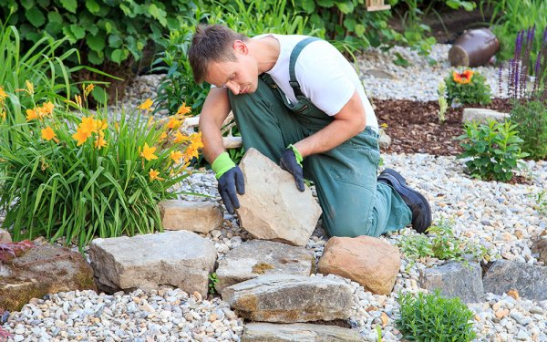 decorative stones types of landscaping