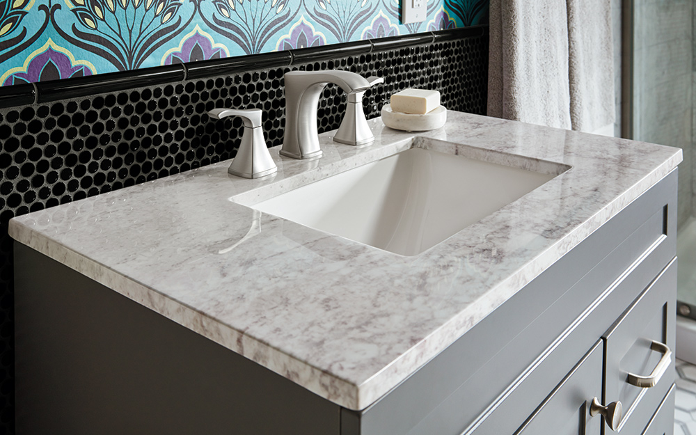 Banjo Bathroom Countertops Best Bathroom Vanity Tops - The Home Depot