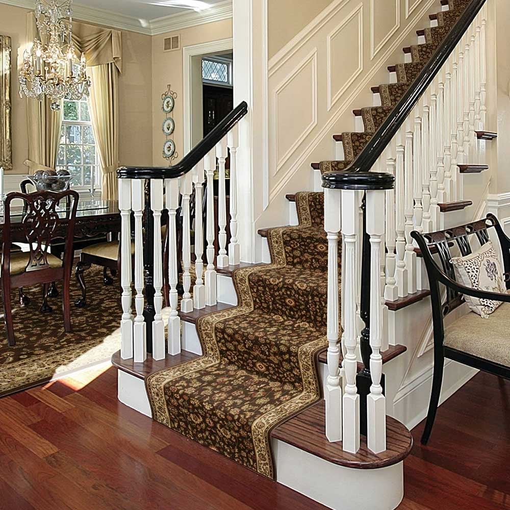 How To Install A Stair Runner The Home Depot | Running Carpet For Stairs | Carpet Runners | Laminate Flooring | Runner | Hallway | Grey