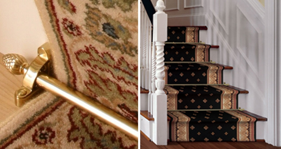 How To Install A Stair Runner The Home Depot   Small Carpet For Stairs   Stair Case   Carpet Runners   Stair Tread   Berber Carpet   Hardwood