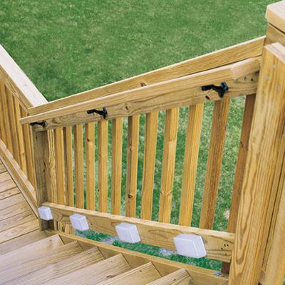 deck stair railings deck railings