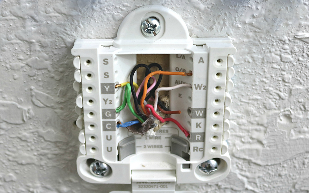 Wiring A Thermostat For Cooling