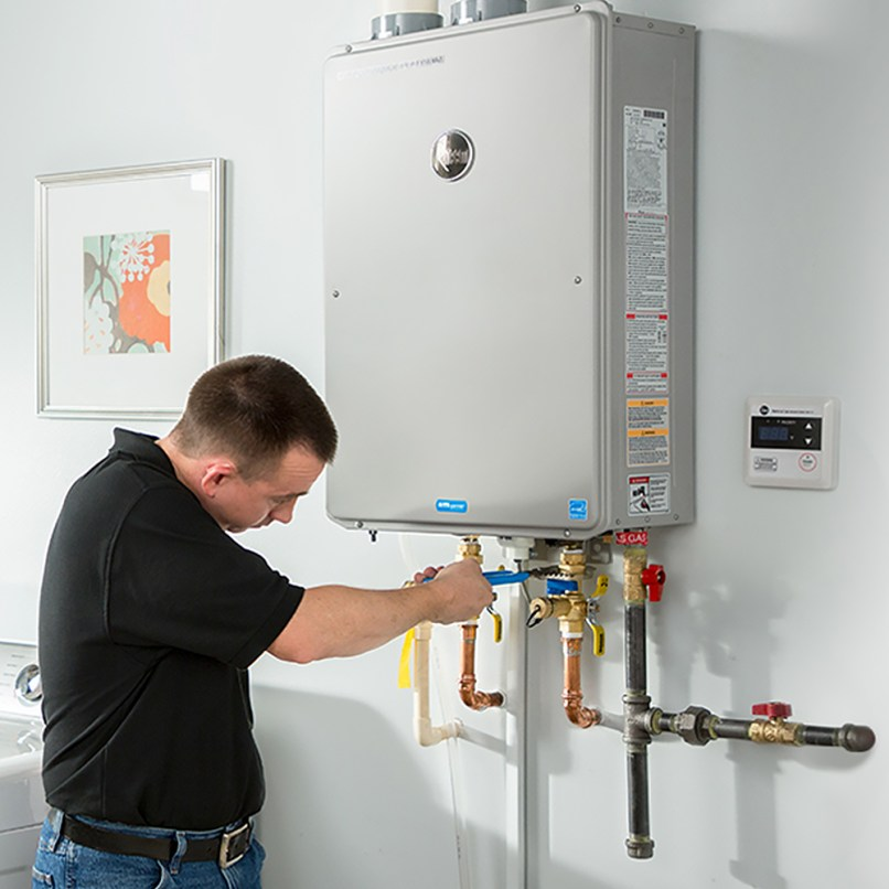 Install A Gas Tankless Water Heater