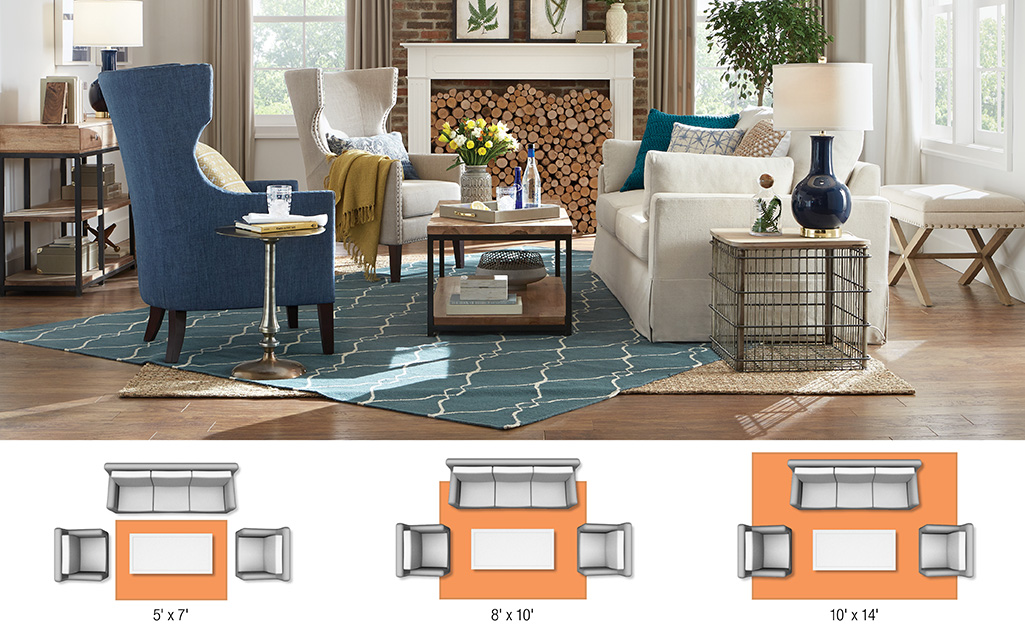 Rug Sizes For Your Space The Home Depot