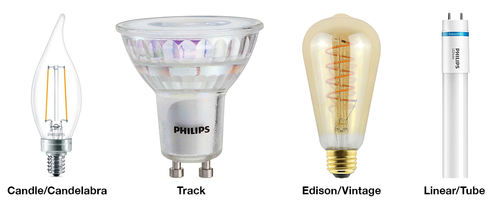 Types Light Bulbs Pictures