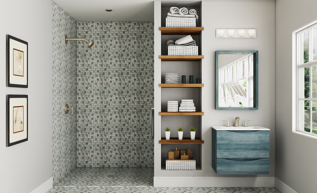 Walk In Shower Ideas The Home Depot