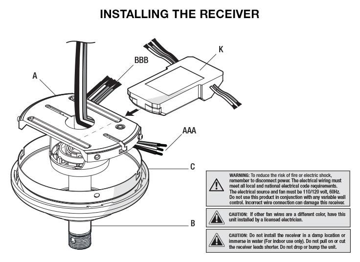 Hampton Bay Ceiling Fan Manual Uc7083t