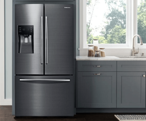 kitchen refrigerator lowes sink cabinet refrigerators the home depot fingerprint resistant