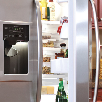 kitchen refrigerator booth ideas refrigerators the home depot organization tips