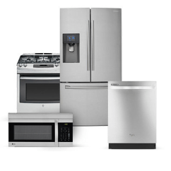 Lowes Kitchen Appliances 33x22 Sink At The Home Depot Appliance Packages