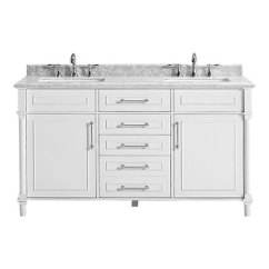 Kitchen Vanities Cotton Rugs Bathroom The Home Depot 60 Inch